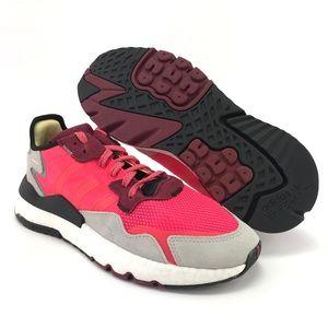 Adidas Men's Night Jogger Shock Red Running Shoes